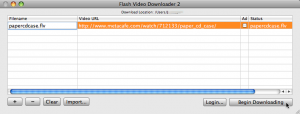 Flash Vide oDownloader
