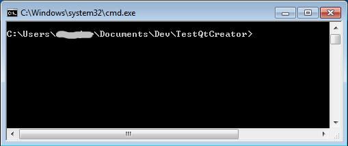 Ouvrir une invite de commande ici 0xbaddc0de for Ouvrir fenetre dos windows 7